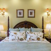 美式卧室床头装饰