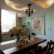 美式沙发背景照片墙欣赏