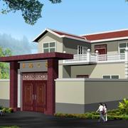 中式特色的房屋