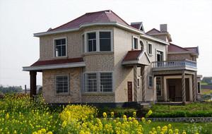 空气清新的农村房屋