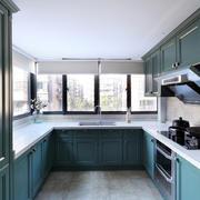 新房U字型大厨房欣赏