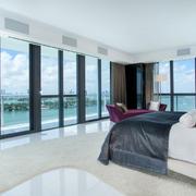 新房卧室落地窗帘欣赏