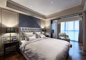 高级灰173平米三居室现代新房装修图