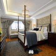 别墅美式卧室展示