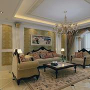精美的沙发背景墙