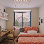 舒适小卧室装饰