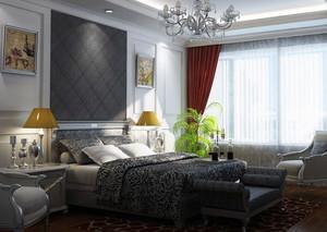 2016大户型欧式经典室内卧室装修效果图