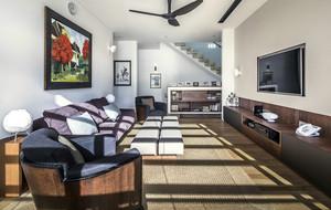 完全融于自然的二层别墅装潢设计图