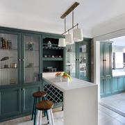新房厨房吧台展示