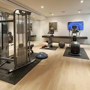 别墅私人家居健身房欣赏