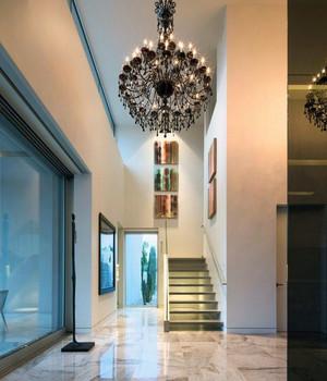 120平米现代主义风格室内楼梯装修效果图鉴赏