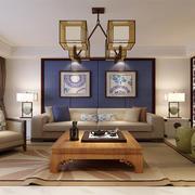小户型家居客厅沙发背景装饰
