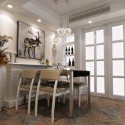 欧式风格小户型餐厅装修效果图实例欣赏