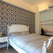 卧室床头壁纸欣赏