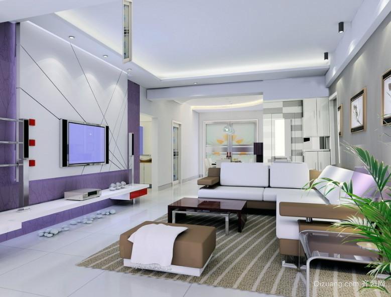 大户型欧式风格客厅装修效果图实例欣赏