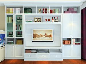2016客厅宜家大型组合电视柜效果图
