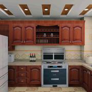 唯美的厨房整体设计