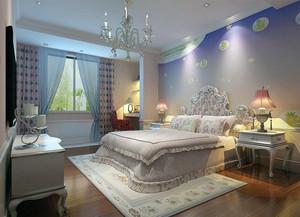 现代欧式风格大户型儿童房装修效果图欣赏