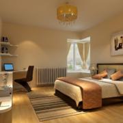 精美的大户型时尚现代简约卧室装修效果图
