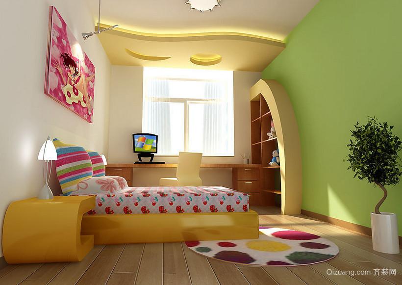 唯美的现代大户型欧式儿童房装修效果图实例