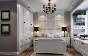 90平米大户型传统日式榻榻米卧室装修效果图