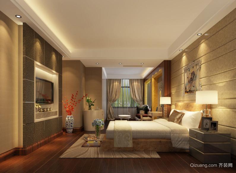 2016大户型欧式风格家庭卧室装修效果图