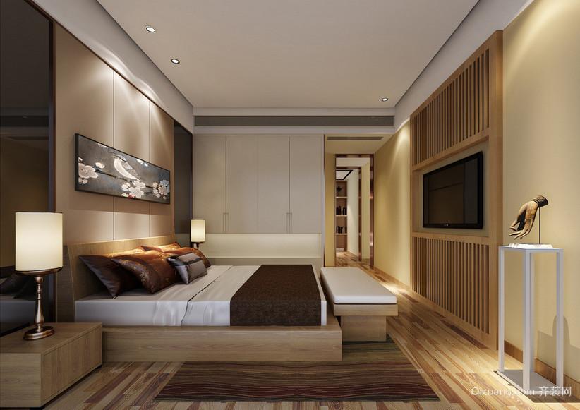 2016小户型欧式卧室背景墙装修效果图实例