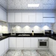 现代欧式风格开放式厨房装修效果图实例