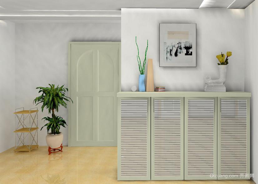 大户型唯美欧式风格室内鞋柜装修效果图