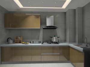 现代别墅欧式橱柜装修效果图实例欣赏