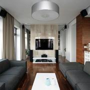 两室一厅电视墙隔断欣赏
