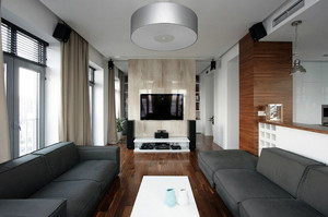 2016朴实温馨两室一厅装修效果图