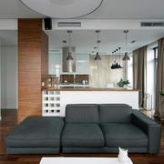 两室一厅客厅布艺沙发