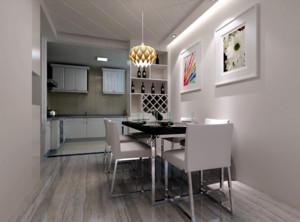 100平米大户型现代简约餐厅室内装修效果图