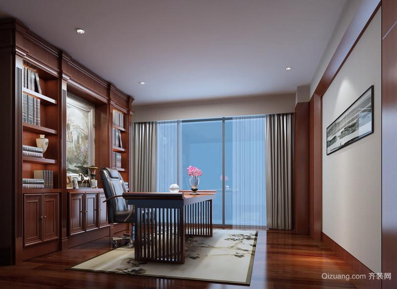 2016现代大户型精致的书房装修效果图