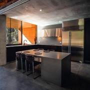 别墅简约开放式厨房