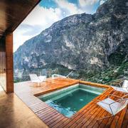 别墅室外游泳池欣赏