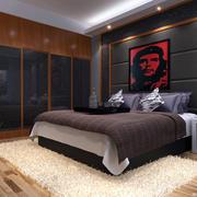简约后现代卧室欣赏