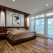 后现代卧室装饰欣赏