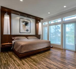 幸福生活之大别墅后现代卧室装修鉴赏