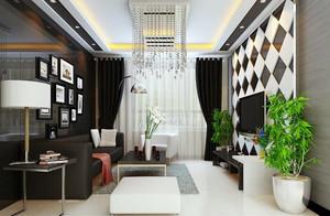 高大上型客厅后现代风格装修图片欣赏