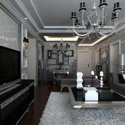 超有气质的后现代客厅