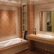 卫生间墙面瓷砖展示