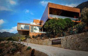 特色鲜明的山中独栋别墅自然景观欣赏