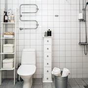 北欧简约卫生间收纳设计
