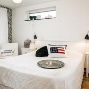 北欧白色小卧室
