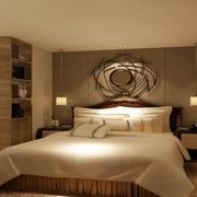 温馨舒适的后现代卧室
