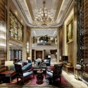 欧式风格现代都市精致的别墅装修效果图