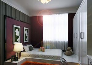 日式传统大户型现代榻榻米卧室装修效果图