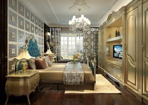 2016土豪大别墅家居欧式卧室地毯图片